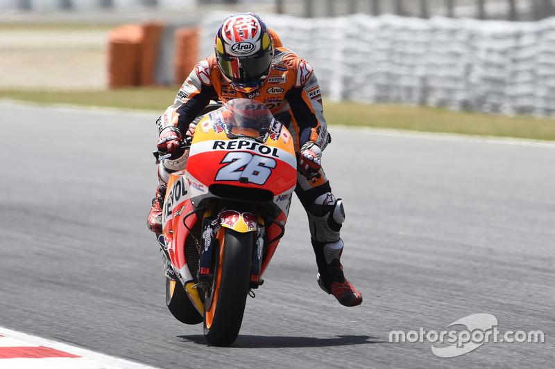 Dani Pedrosa, Repsol Honda Team, braking