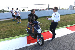Johann Zarco, Ajo Motorsport at new chicane to replace turn 12
