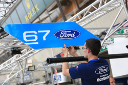 Ford Chip Ganassi Racing Ford GT pit board sign