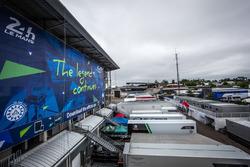 Le Mans sfeerbeeld paddock