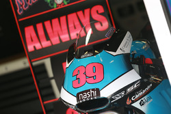 Moto de Luis Salom SAG Racing Team