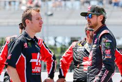 Kurt Busch, Stewart-Haas Racing, Chevrolet; Interims-Crewchief John Klausmeier