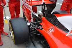 Ferrari SF16-H suspension detail