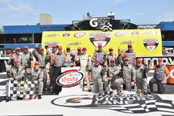 Pemenang lomba Daniel Suarez, Joe Gibbs Racing Toyota