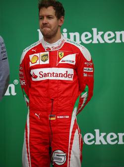 2nd place Sebastian Vettel, Scuderia Ferrari SF16-H