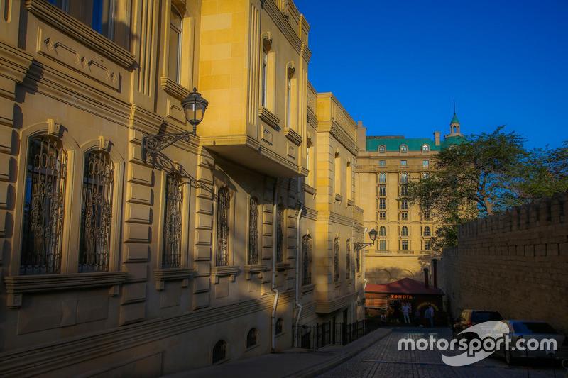 Ciudad vieja de Bakú