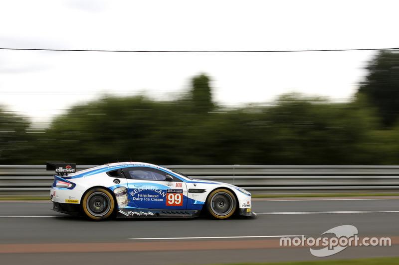 44: #99 Aston Martin Racing Aston Martin Vantage: Andrew Howard, Gary Hirsch, Liam Griffin