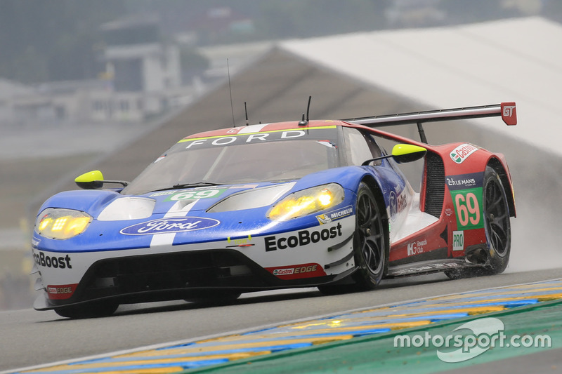 3. LMGTE-Pro: #69 Ford Chip Ganassi Racing, Ford GT