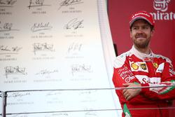 2° posto per Sebastian Vettel, Scuderia Ferrari SF16-H
