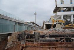 Interlagos'da inşaat 2016