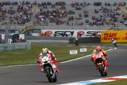 Andrea Iannone, Ducati Team and Marc Marquez, Repsol Honda Team