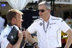Stefan Reinhold, BMW Team RMG et Jens Marquardt, BMW Motorsport Director