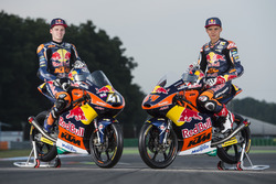 Bo Bendsneyder, Red Bull KTM Ajo; Brad Binder, Red Bull KTM Ajo