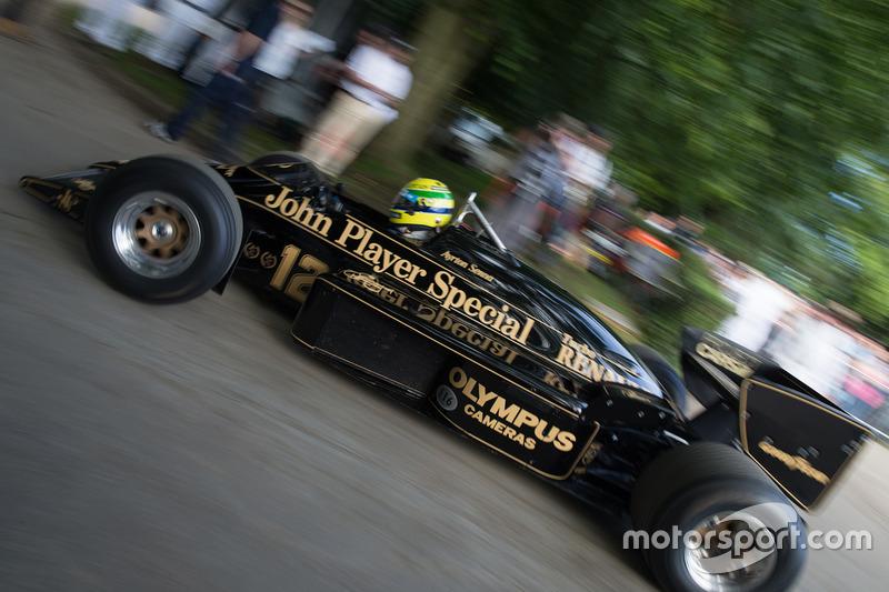 Lotus-Renault 97T - Katsuaki Kubota