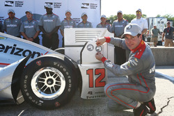 Polesitter Will Power, Team Penske Chevrolet