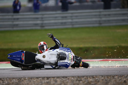 Sturz: Yonny Hernandez, Aspar MotoGP Team