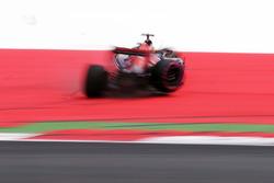 Даниил Квят, Scuderia Toro Rosso потерял управления после поломки подвески