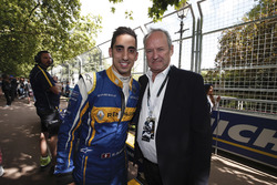 Sébastien Buemi, Renault e.Dams with Jerome Stoll, Renault