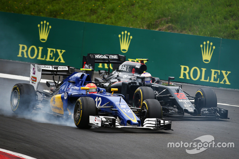 Felipe Nasr y Jenson Button