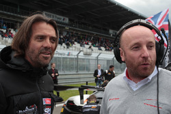 Stéphane Ratel CEO and Founder Of SRO Motorsport Group with Vincent Vosse