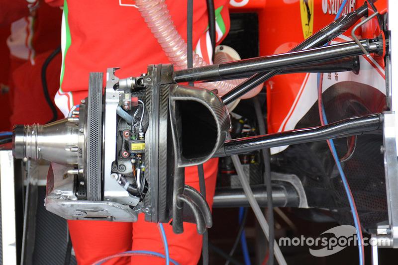 Ferrari SF16-H, disco freno anteriore