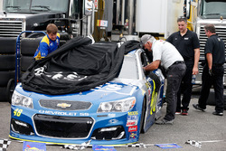 Car of Jimmie Johnson, Hendrick Motorsports Chevrolet