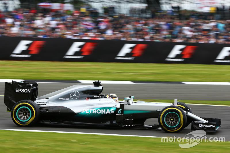 Großbritannien, Silverstone: Lewis Hamilton (Mercedes)