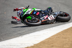 Saeed Al Sulaiti, Pedercini Racing crash at the corkscrew
