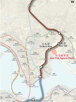 Kai Tak Sports Park connectivity