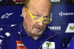 Silvano Galbusera, Crewchief von Valentino Rossi, Yamaha Factory Racing