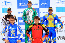 DSKM Rennen 1: 1. Marco Ardigo; 2. Anthony Abbasse; 3. Davide Fore; 4. Jorge Pescador; 5. Tommasco Mosca