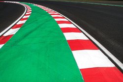 Letzte Kurve und Eingang der Boxengasse auf dem Hungaroring