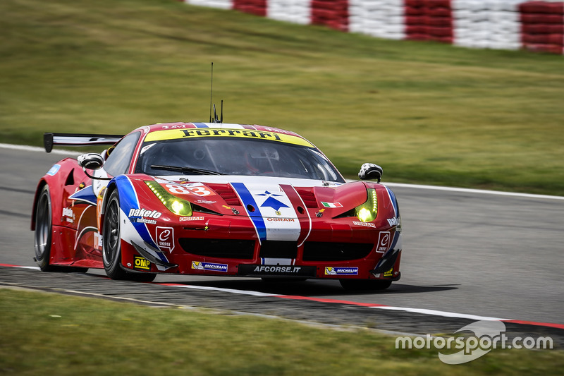 3. GTE-Am: #83 AF Corse, Ferrari 458 Italia: Francois Perrodo, Emmanuel Collard, Rui Aguas