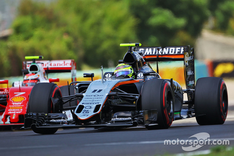 13: Sergio Perez, Sahara Force India F1 VJM09