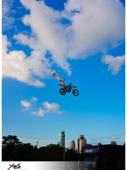 Crazy photo - freestyle moto