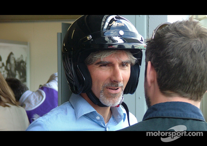 F1 GP 2008 Damon Hill