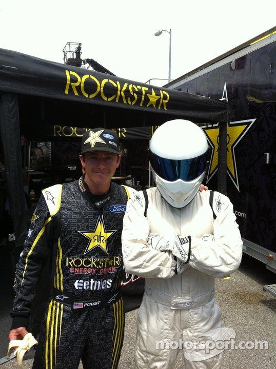 Stig @ rallycross X-Games