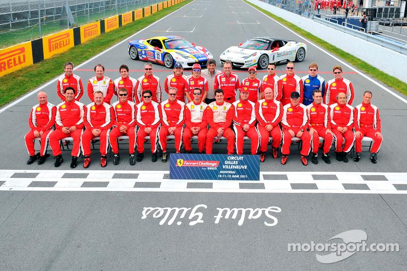 Drivers Group Photo at Circuit Gilles Villeneuve