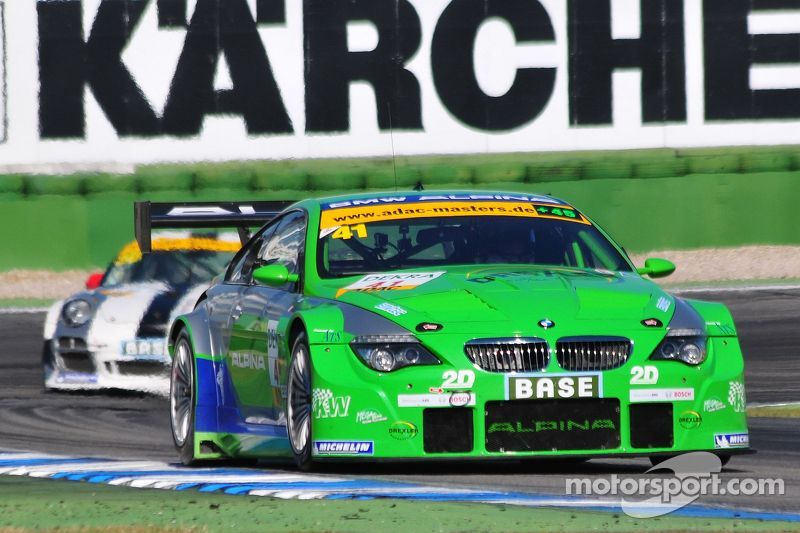 ADAC GT Masters Race 1 - Lunardi / Margaritis on their way to win the Championship