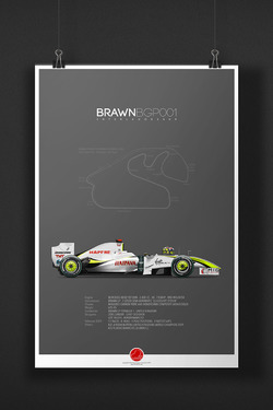 BRAWN BGP001 Jenson Button