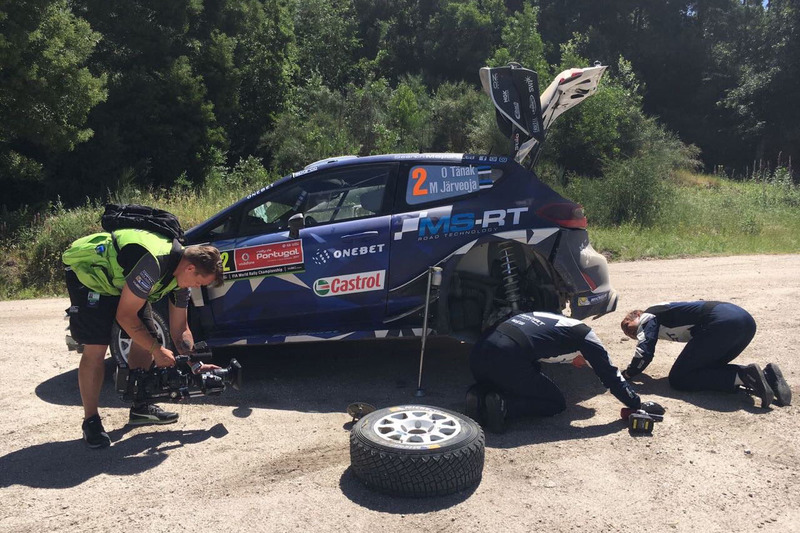 Отт Тянак и Мартин Ярвеоя, Ford Fiesta WRC