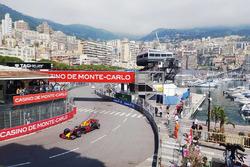 Max Verstappen in Monaco