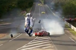 Anthony Davidson crash at Le Mans 2012