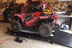 Bob is a UTV racer in Ohio ...He sent us a nice pic of his 2016 Polaris ACE 900 on PRO 2500 UTV Lift