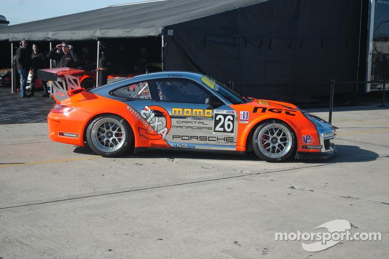 Carlos Gomez's NGT Porsche