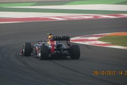 Vettel leading