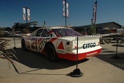 Jon Jordan's Historic Wood Brothers NASCAR Thunderbird on display