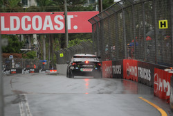 Very wet day for Race 1