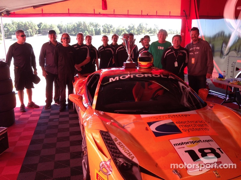 The Auto Gallery Motorsports Crew with Jim Weiland