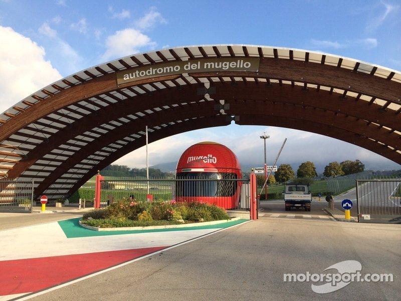 Autodromo del Mugello Entrance